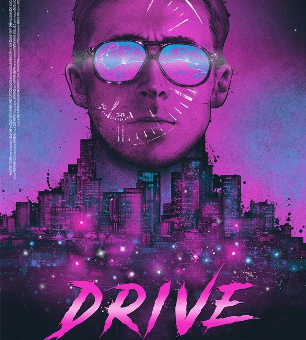drive 20 epic movie poster illustration designs