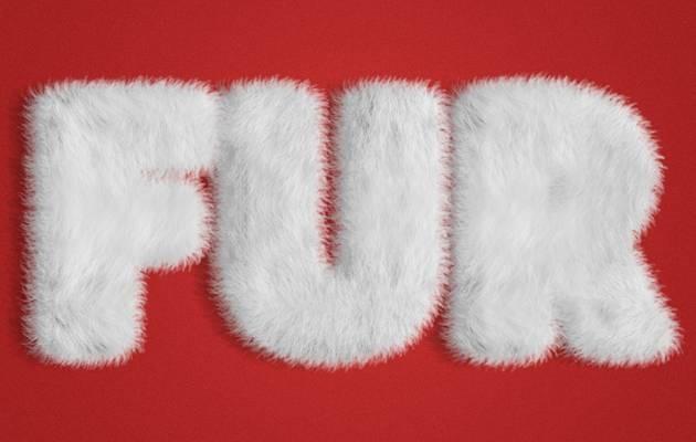fur-text-effect