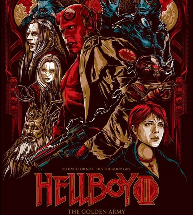 hellboy 20 epic movie poster illustration designs