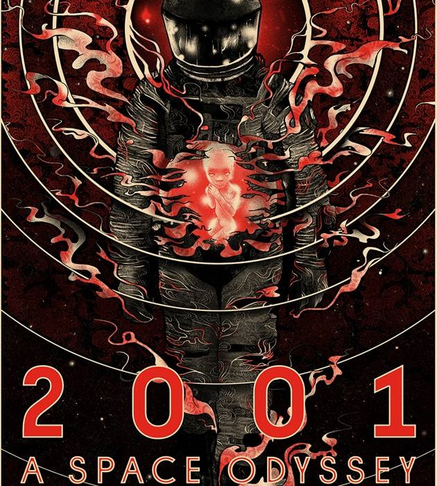space 2001 20 epic movie poster illustration designs
