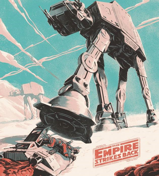 star wars 20 epic movie poster illustration designs