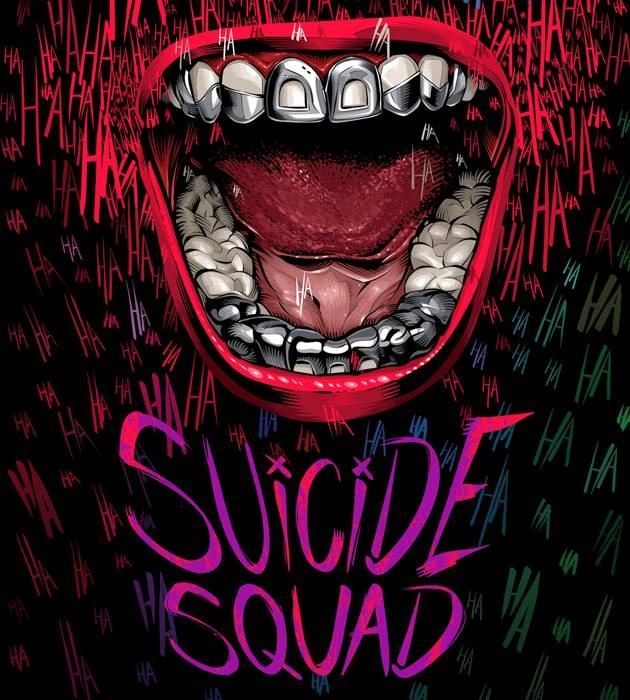 sucide squad 20 epic movie poster illustration designs
