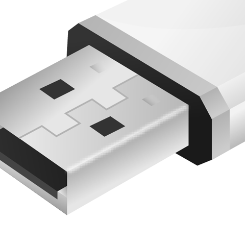 21 How to create a an USB flash drive using illustrator