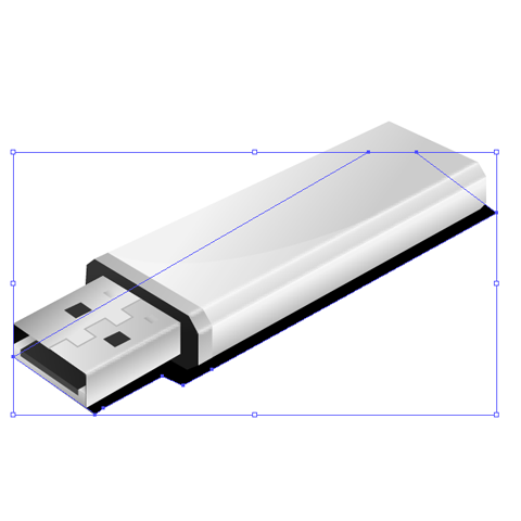 23 How to create a an USB flash drive using illustrator