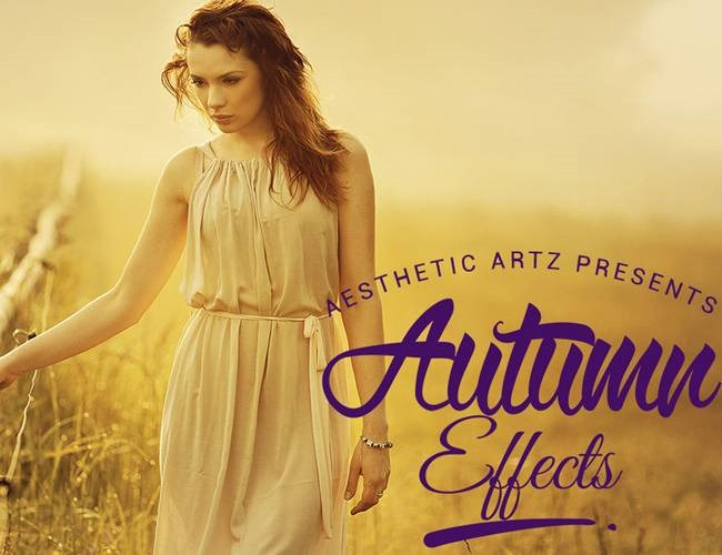 autumn effects 100 Must download free Photoshop actions (And everything else you should know)
