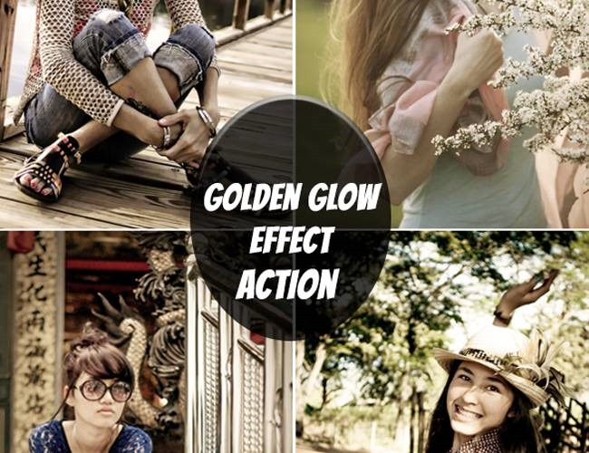 glow 100 Must download free Photoshop actions (And everything else you should know)