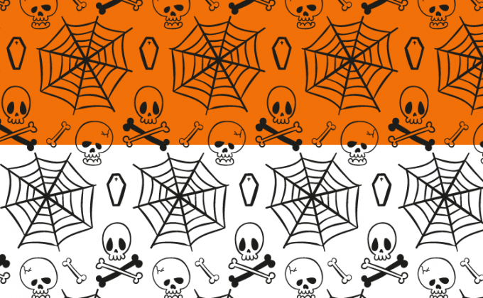 Spooky free Halloween seamless vector pattern set | Creative Nerds