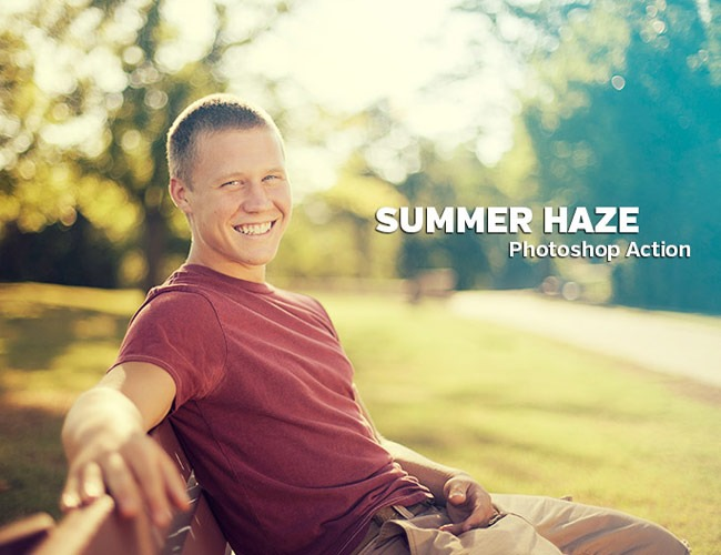 summerr haze 100 Must download free Photoshop actions (And everything else you should know)