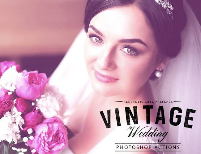 vintage action 100 Must download free Photoshop actions (And everything else you should know)