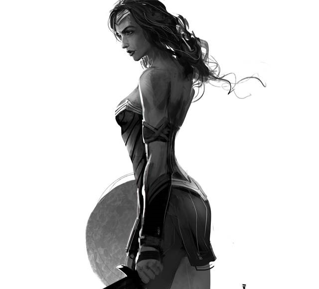 wounder woman ivan tao Wonder Women must see inspirational illustrations and digital art