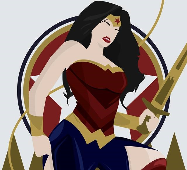 wounder women adele hentz Wonder Women must see inspirational illustrations and digital art