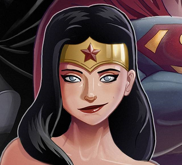 wounder women edouard relou Wonder Women must see inspirational illustrations and digital art