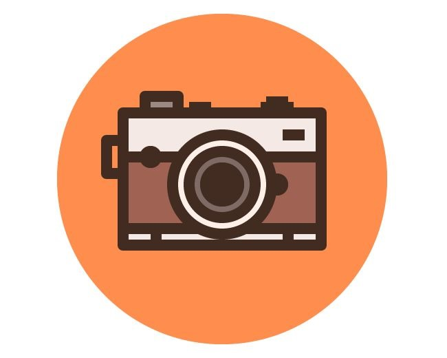 camera icon 70 Illustrator tutorials for creating icons