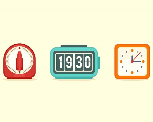 clock icon 70 Illustrator tutorials for creating icons