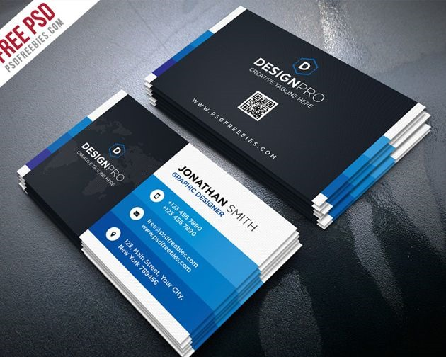 50 free psd business card template designs creative nerds creative modern business card flashek Image collections