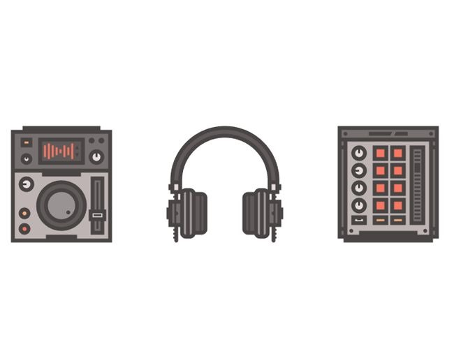 dj icons 70 Illustrator tutorials for creating icons