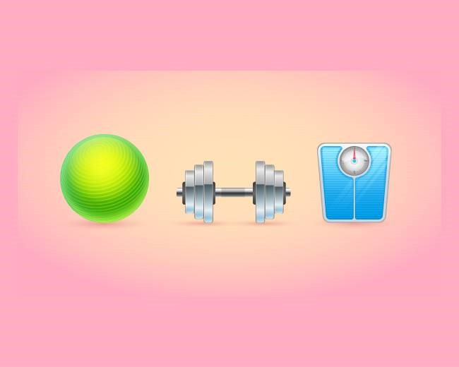 fitness icons 70 Illustrator tutorials for creating icons