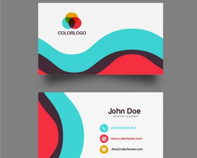 50 free psd business card template designs creative nerds wave business cards colourmoves