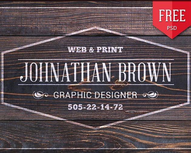 web print 50 free PSD business card template designs