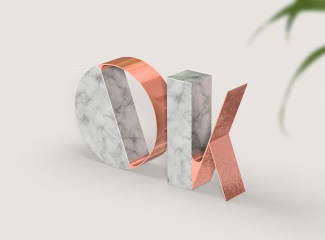 marble-text