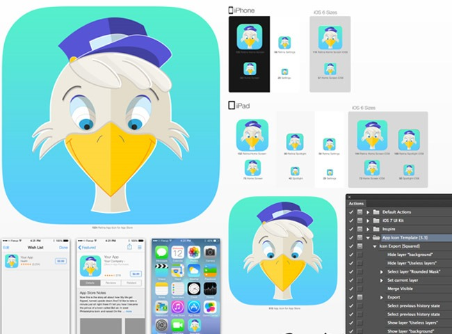 20 tutorials for learning how to create app icons for How to design an iphone app