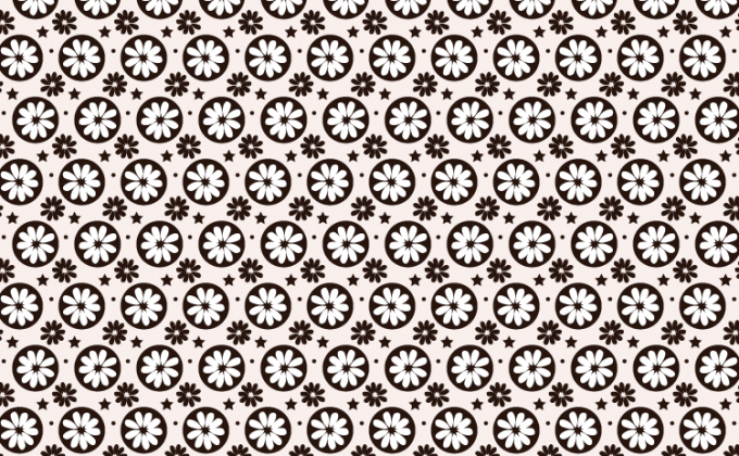 Flower seamless free Photoshop and Vector pattern | Creative Nerds