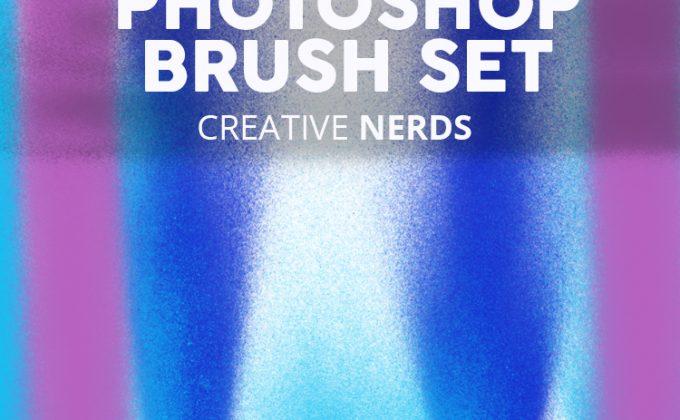 Spray paint free Photoshop brush set | Creative Nerds