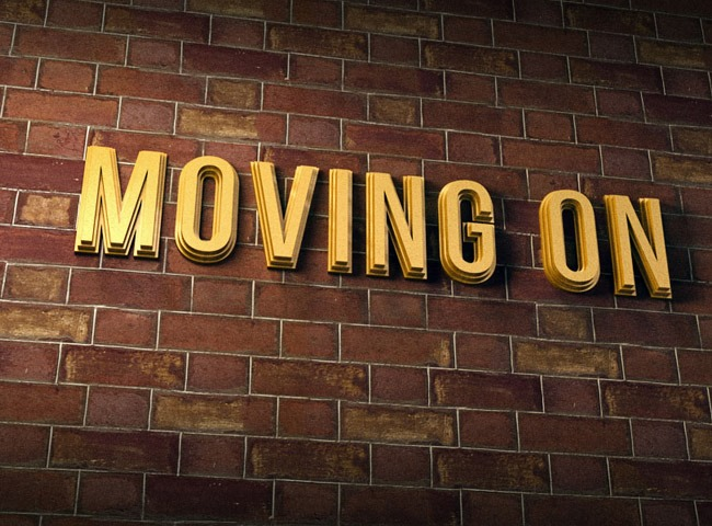 how to create moving text