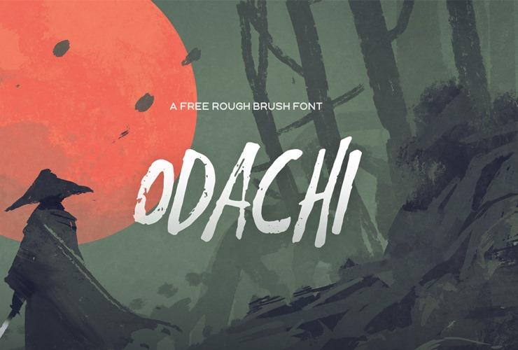 odachi-free-fonts