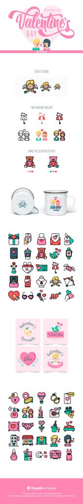 50 free valentines themed icons | Creative Nerds